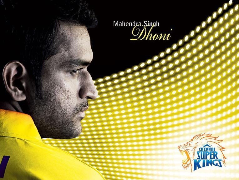 CSK- Chennai Super Kings Images Dhoni Rocks HD Wallpaper