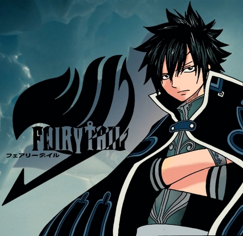 Fairy Tail Guild wallpaper probably containing anime called gray wishing he was cool