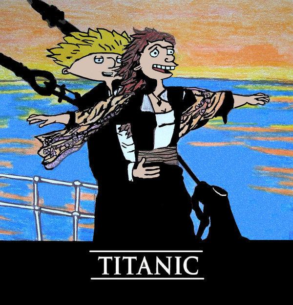 ciao arnold Titanic