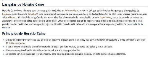 horatio caine - wikipedia funny spanish version