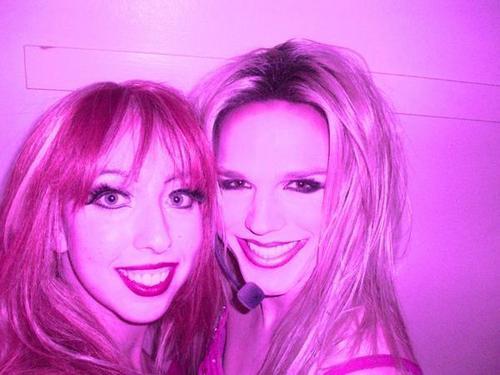 impersonator Britney Spears