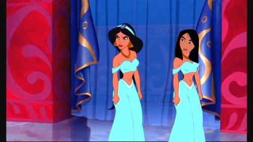 Jasmine and Mulan