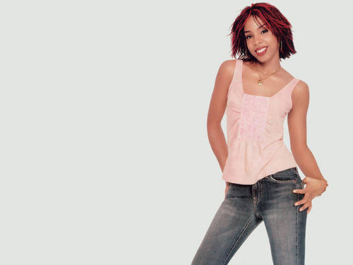 Kelly Rowland wallpaper with bellbottom trousers entitled kelly