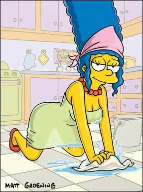 os simpsons wallpaper containing animê titled marg simpson