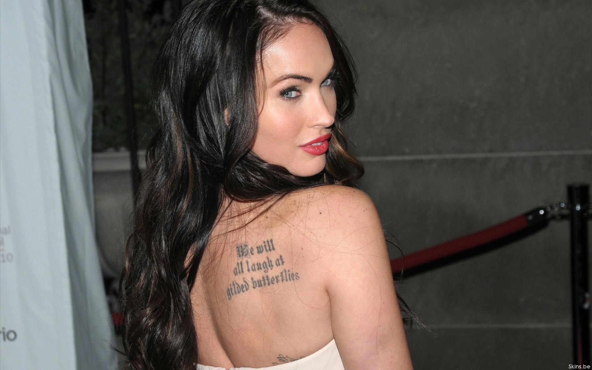 Megan Fox Shoulder Tattoo