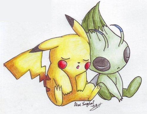 pikachu & celibi