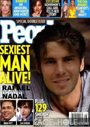 rafa sexiest¨ man in the world !