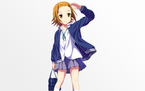 Tainaka Ritsu wallpaper possibly with a hip boot, an outerwear, and a legging titled tainaka ritsu
