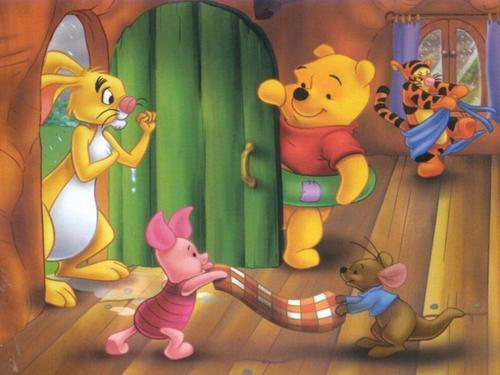 Winnie the Pooh achtergrond entitled winnie the pooh