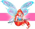 winx bloom 3D - winx-club-movie fan art