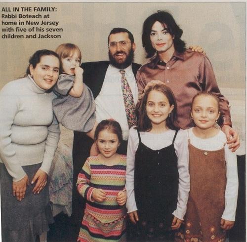 with rabbi's family