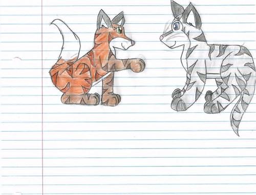 wolfstorm and foxblaze