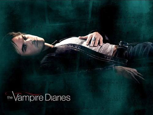 ডামন্ স্যালভ্যাতরে দেওয়ালপত্র entitled ***Damon***