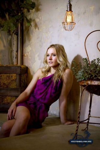 Kristen Bell wallpaper possibly with a leotard, a bustier, and tights called  Liz O. Baylen photoshoot