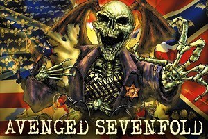 Avenged Sevenfold wallpaper containing Anime titled A7X Deathbat