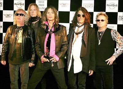 Aerosmith Hintergrund called Aerosmith