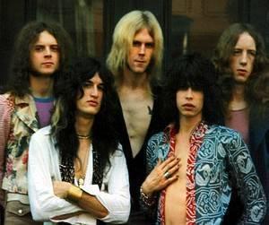 Aerosmith Hintergrund containing a portrait entitled Aerosmith