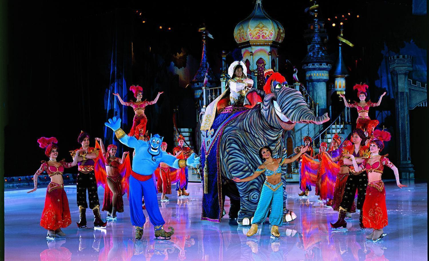 Disney On Ice Images Aladdin Hd Wallpaper And Background