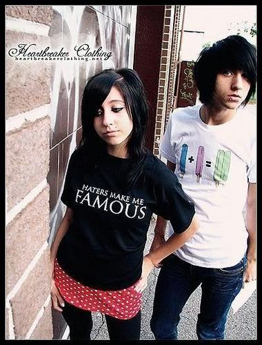 Alex and his sister (: