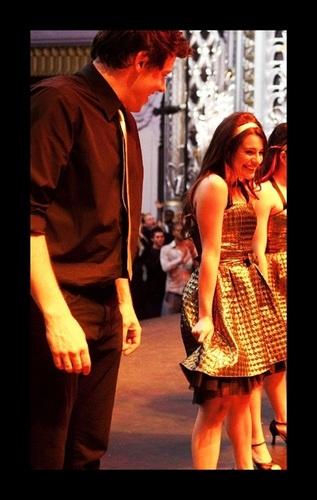 Allan Cory Monteith & Lea Michele