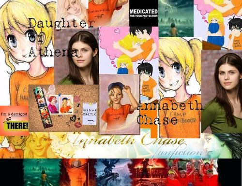 Annabeth Chase Collage