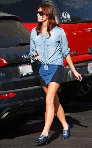 Ashley out in LA