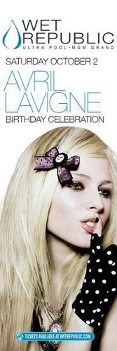 Avril Lavigne's Birthday Celebration.