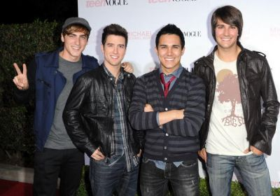 BTR @ 8th Annual Vogue Party