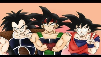 Bardock and his sons all together! :)