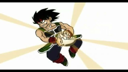 Bardock is doing the Kamehameha!?