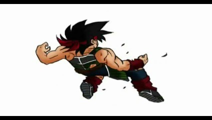 Bardock thrown back!