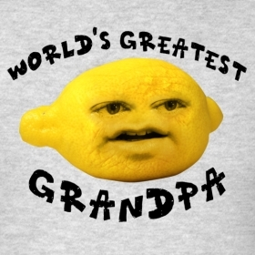 The Annoying Orange wallpaper called Best Grandpa Ever!
