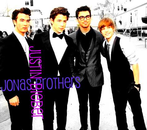 Bieber Meets Jonas! ;)