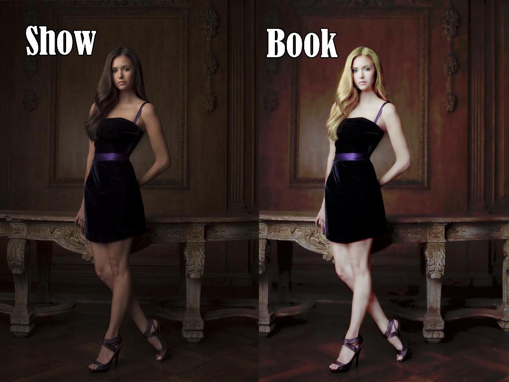 کتابیں vs دکھائیں