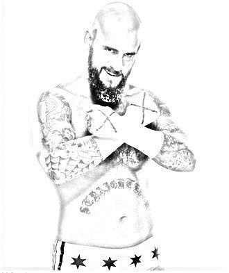 CM Punk Sketch