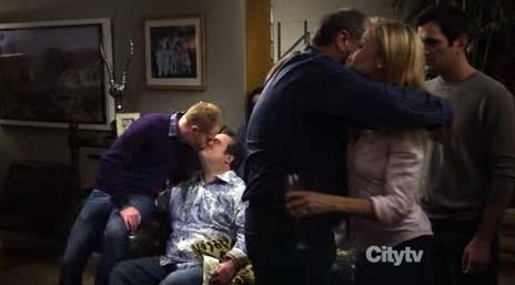 Cam & Mitch's first on-screen kiss!