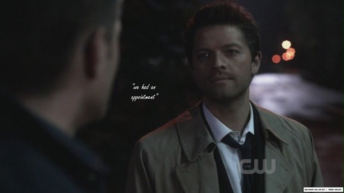 Castiel wallpaper containing a business suit titled Cass and Dean
