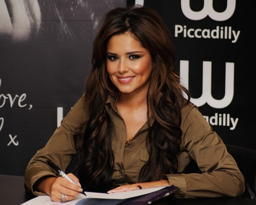 Cheryl @ Waterstones Piccadilly