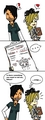 ChrisMcleanxKatie fanart xD - total-drama-island fan art