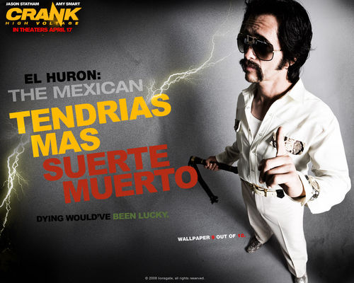 Action Films wallpaper with sunglasses entitled Crank 2: High Voltage