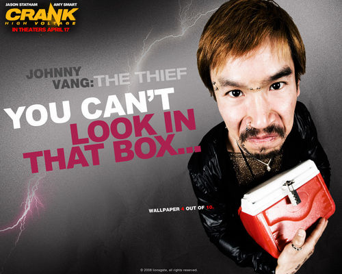 Action Films wallpaper probably containing a sign and anime called Crank 2: High Voltage