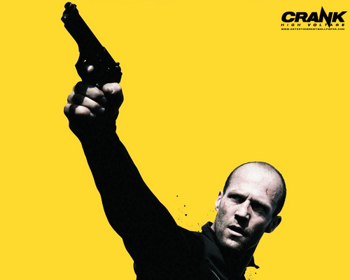 Action Films দেওয়ালপত্র possibly with জীবন্ত called Crank 2: High Voltage