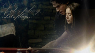 The Vampire Diaries TV Show wallpaper probably with a fire titled DE