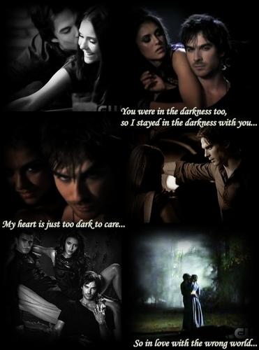 Damon & Elena/Katherine
