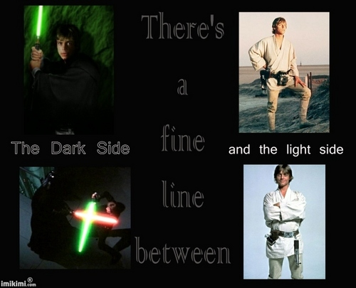 Dark Side, Light Side- Luke