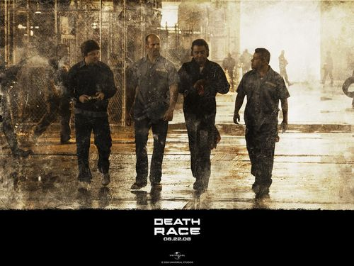 Action Films fondo de pantalla containing a portcullis, a street, and a fuente called Death Race