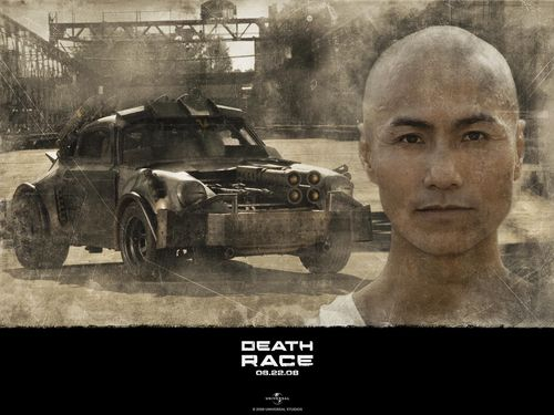 Action Films wallpaper possibly with a street and a sign titled Death Race