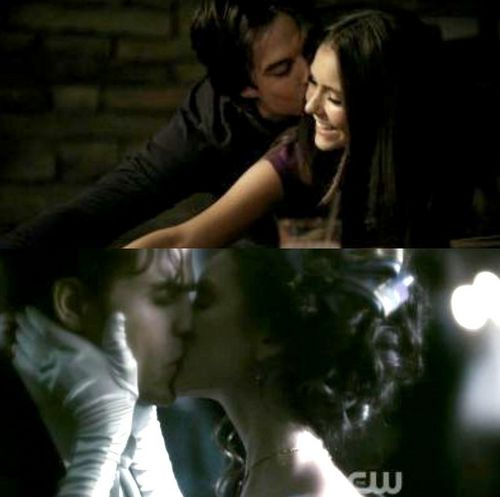 Delena & Steferine wallpaper containing a portrait entitled Delena & Steferine