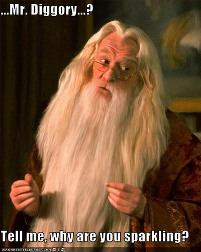 Dumbeldore is wise.