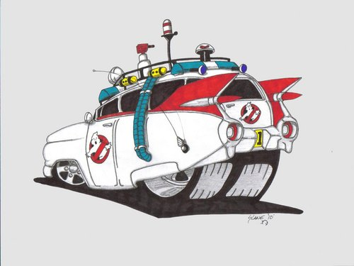 ecto 1 ghostbusters wallpaper - photo #21
